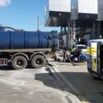 Перекачка загрязненной воды по месту (илососом)